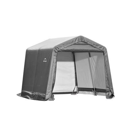 canadian tire shelterlogic sheds shelterlogic shed in a box 10 ft x 10 ft x 8 ft gray