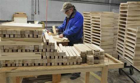 cabinet makers portland maine wilton community gave furniture shop its polish portland