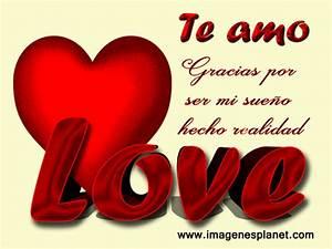 TE AMO Imágenes de Amor con Movimiento Frases Románticas de Amor