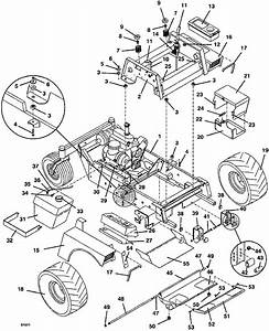 721d2 Tractor Assembly 1998 Grasshopper Mower Parts