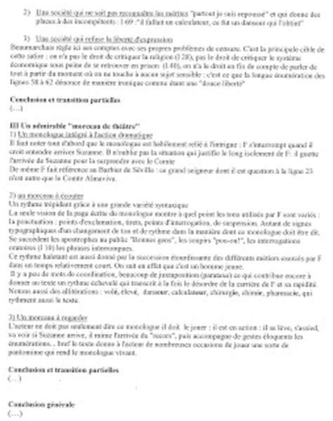 le mariage de figaro analyse monologue premi 232 re l3 2012 2013 texte 5 le mariage de figaro