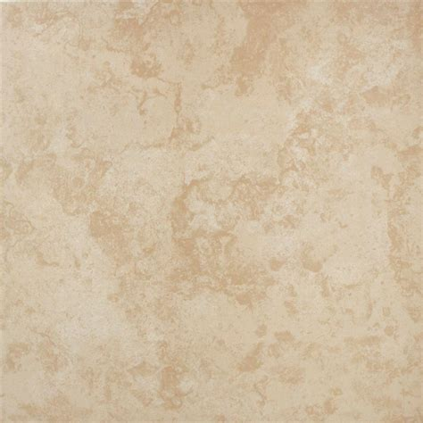 Vitromex Tile Home Depot by Vitromex Sand Beige 16 In X 16 In Ceramic Floor And Wall