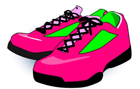 Clipart Shoes Karson Blaster Shoes Clip At Clker Vector Clip