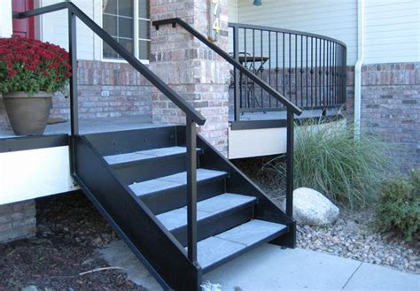 premade porch steps exterior stairs for mobile homes mobile homes ideas