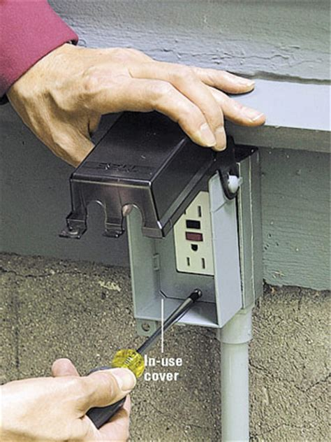 Extending Power Outdoors How Install Outdoor Wiring