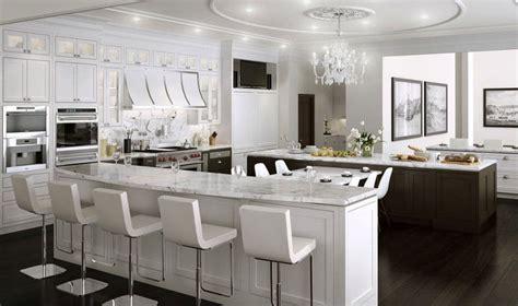 cuisine luxueuse cuisine blanche 36 idées de luxe pour une cuisine design