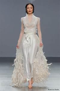 marco maria bridal 2016 wedding dresses wedding inspirasi With wedding dress with pants