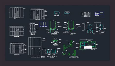 detail drywall dwg detail  autocad designs cad