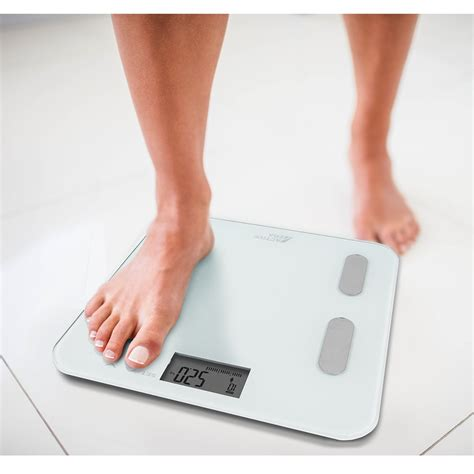 digital body fat scales bs  white bathroom scales
