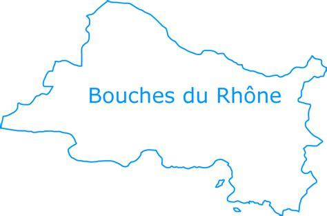 carte departement bouches du rhone departement bouches