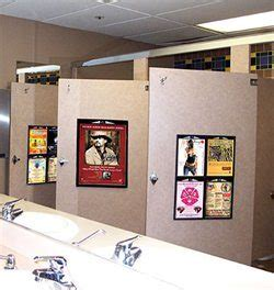 restroom advertising mall advertising matrix media