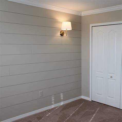 diy shiplap nursery wall frills drills