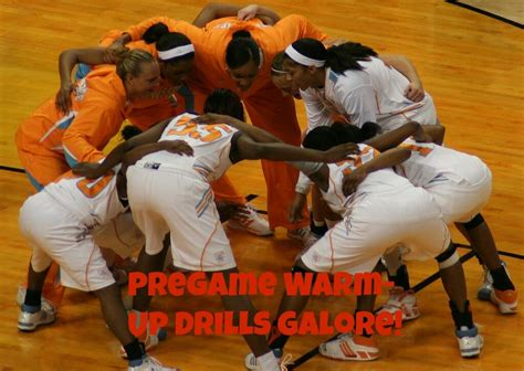 drills basketball pregame game players ready effective prepare during