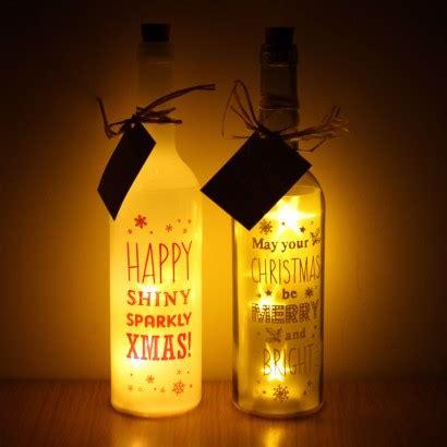 starlight message bottle lights