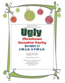 ugly christmas sweater party invitations free downloads custom ugly christmas sweaters