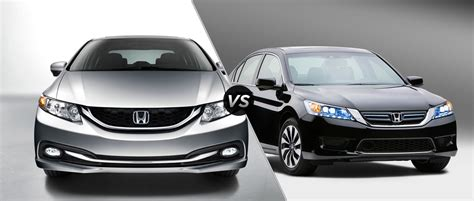 2014 Honda Civic Vs. 2014 Honda Accord