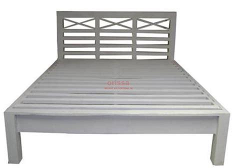 testata letto in legno letto in legno massello bianco decapato stile provenzale
