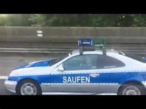 Sportwagenfahrer Ueber Die Polizei by Lustige Polizei