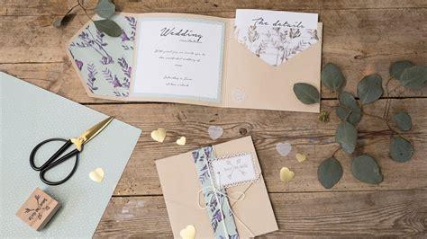 DIY : Homemade wedding invitations by Søstrene Grene YouTube