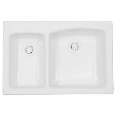 Karran Sinks Home Depot by Karran Self Acrylic 33x22x9 0 30 70