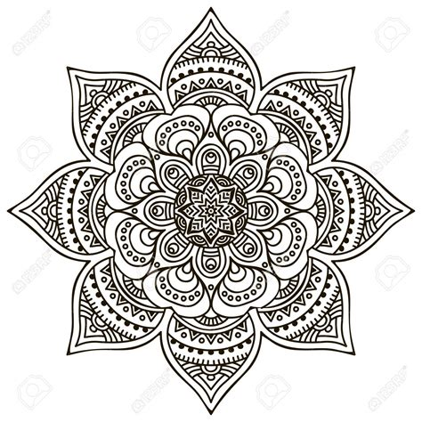 mandala  ornament pattern vintage decorative