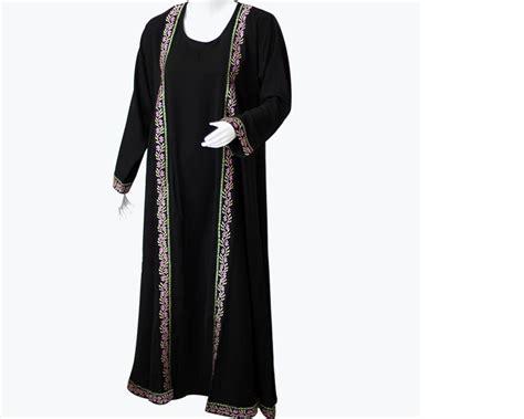 Parda Black Embroidered Abaya Price In Pakistan (m005643