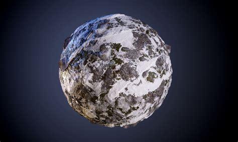 3D model Ground Snow Rock Seamless PBR Texture | CGTrader