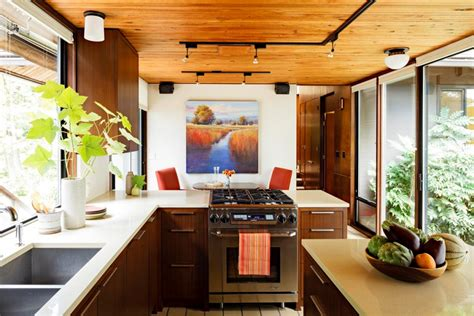 Design Ideas For Galley Kitchens - 35 sensational modern midcentury kitchen designs