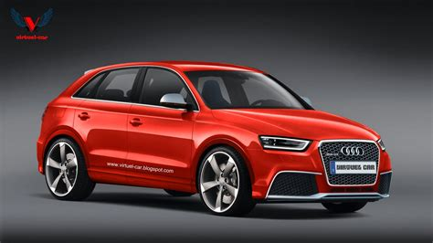 Audi Q3 Modification by Audiboost Audi Q3 Rs Rendered To Get Tt Rs Powertrain