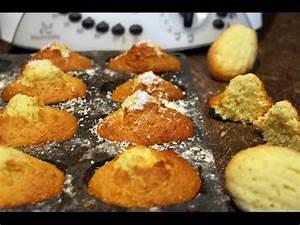 Noix De Coco Recette : une recette de madeleines noix de coco au thermomix youtube ~ Dode.kayakingforconservation.com Idées de Décoration