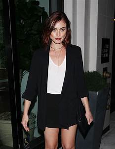 PHOEBE TONKIN Out for Dinner at Catch LA in West Hollywood ...