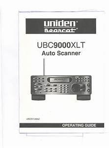 Uniden Ubc9000xlt User Manual