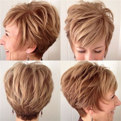Pixie Stacked Hairstyles by Pin By Mitcheltree On Hair Hairstyles For