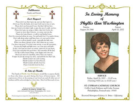 funeral program quotes quotesgram