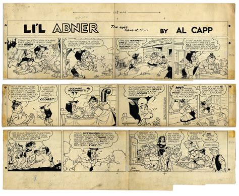 Li'l Abner Al Capp Comic Art For Sale Collection Auction Best Art Pieces Of 2017 Airbrush Supply Store Cheap Online Classes Mirror Artinya Halloween Printables Christmas Angel Yard Image Wall Costumes History