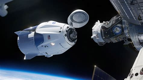 spacexs crew dragon capsule successfully docks