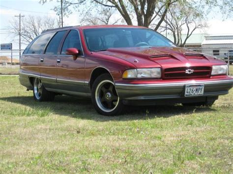 how things work cars 1994 chevrolet caprice parking system find used 1994 chevrolet caprice classic wagon 4 door 5 7l impala ss wheels ram air hood in