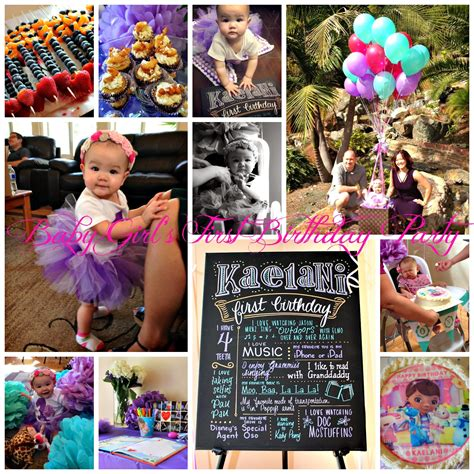 1st birthday ideas for baby girl party themes inspiration san diego hr february 2014