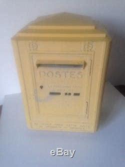 ancienne boite aux lettres ptt la poste dejoie  nantes