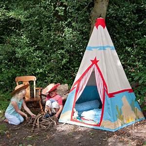 Tipi Pour Enfant : cabane tente de cowboy tipi pour enfant wingreen ~ Teatrodelosmanantiales.com Idées de Décoration