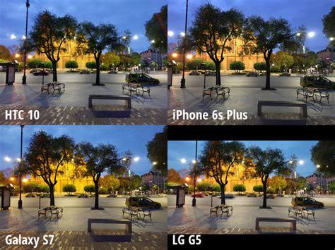 light cameras galaxy   iphone lg  htc