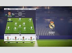 FIFA 18 Real Madrid player ratings Ronaldo the highest