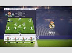 La mejor alineación y formación para el Real Madrid en