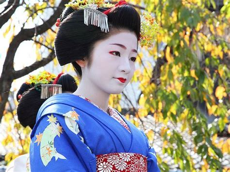 Geisha, Japanese Geisha And Kyoto