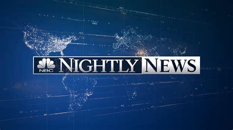 NBC Nightly News | NBC