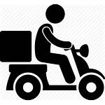 Delivery Icon Rider Motorcycle Motorbike Shipping Logistic
