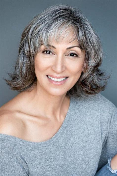 Hairstyles For With Gray Hair by Amazing Gray Hairstyles We Southern Living