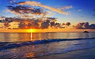Paradise Beach Sunset
