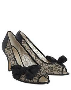 black wedding shoes black and white floral bridal shoes the wedding specialiststhe wedding specialists