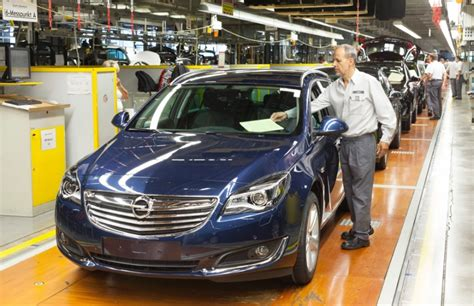 Opel Productions by 2014 Opel Insignia Commences Production In R 252 Sselsheim